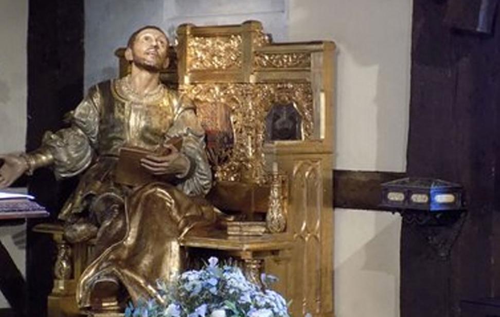 Saint Ignace en convalescence au Chateau