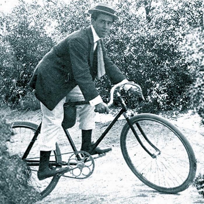 """Le jeune Paco dit """"le vieux fou"""" 1903"""