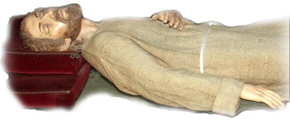 St Ignace de Loyola, lors d'une extase à Manrèse