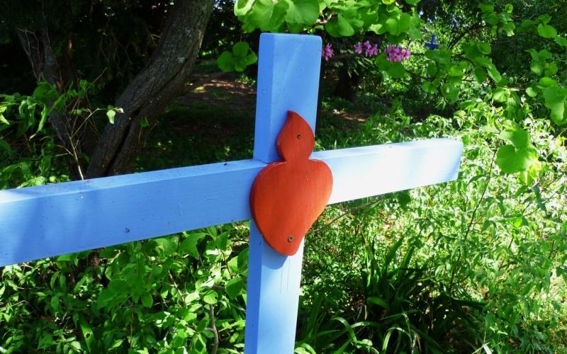 Croix CPCR du chemin de croix de St Joseph