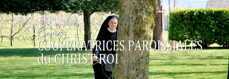 Soeurs Coopératrices au service se l'évangélisation des hommes par les Exercices de St Ignace