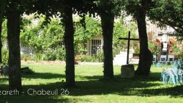 La maison Nazareth est un lieu propice à la pratique des Exercices de St Ignace dans la Drôme