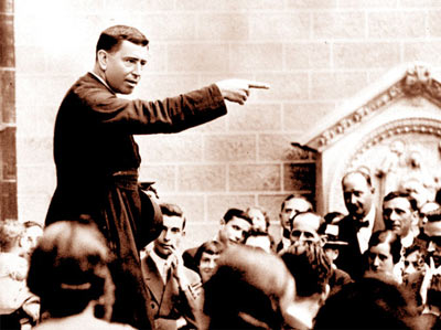 Père Vallet prédicateur des Exercices de St Ignace et fondateur des CPCR
