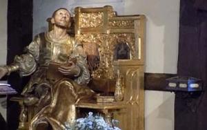 St ignace de Loyola au chateau pendant sa convalescence.
