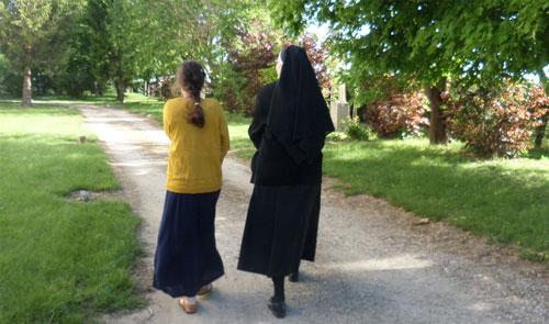 Accompagnement spirituel lors d'une retraite de St Ignace, discernement vocationnel.