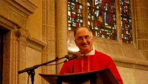 Révérend Père Barbier, supérieur général des Coopérateurs Paroissiaux du Christ Roi