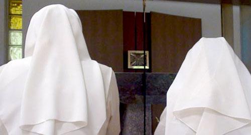 Les Soeurs soutiennent de leur prière les retraitants qui font l'expérience des Exercices de St Ignace.