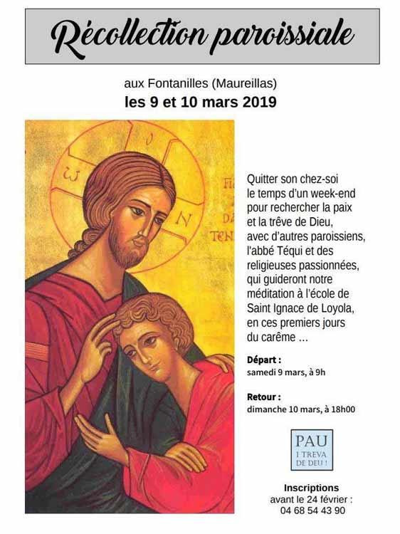 Retaite ignacienne en paroisse prêchée par les Soeurs CPCR