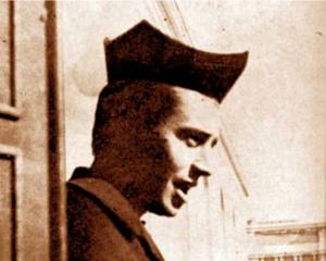 Jeune François de Paul Vallet, fondateur des CPCR, novice chez les Jésuites