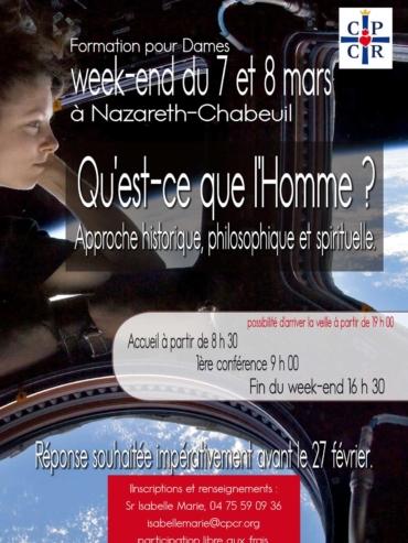 Week-end de Formation pour Dames 7&8 mars 2020